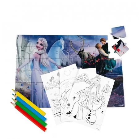 Puzzle 48 Piese + Bonus Frozen 2 [1]