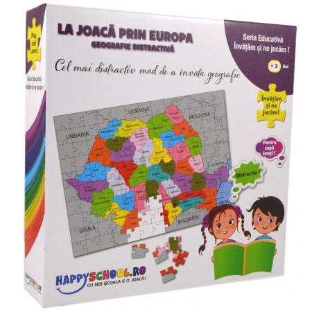 Puzzle La Joaca Prin Europa [0]