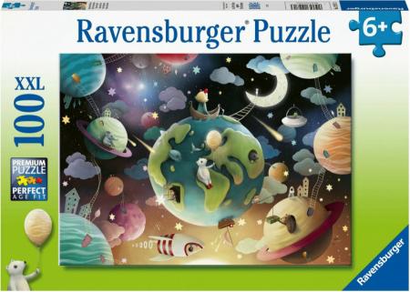 Puzzle Planete, 100 Piese [0]