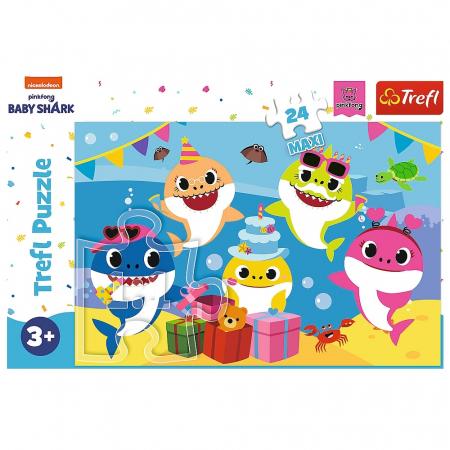 Puzzle Trefl 24 Maxi Happy Baby Shark [2]