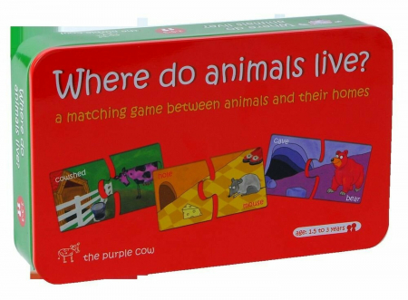 Puzzle- Unde Locuiesc Animalele [0]