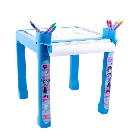 Pachet Vampirina- Masa cu accesorii de colorat + set de colorat portabil2