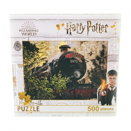 Puzzle 500 Piese Harry Potter- Trenul Hogwarts Express0