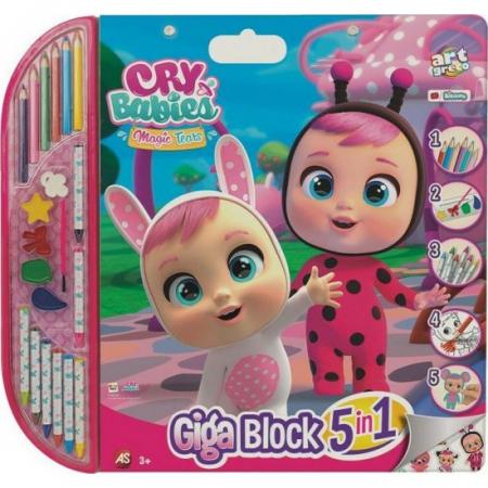 Set Pentru Desen 5 In 1 Gigablock Cry Babies [0]