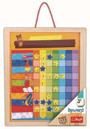 Tabla din lemn - Recompense zilnice