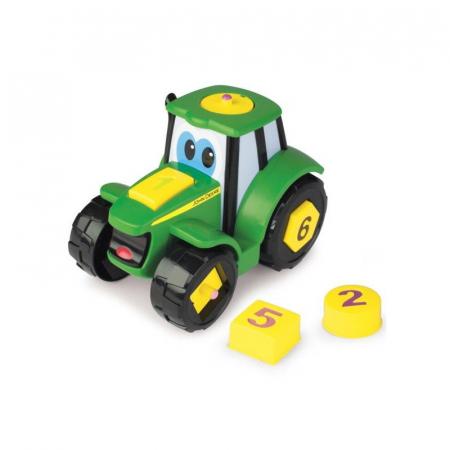 Tractoraș Cu Forme Și Cifre - John Deere2