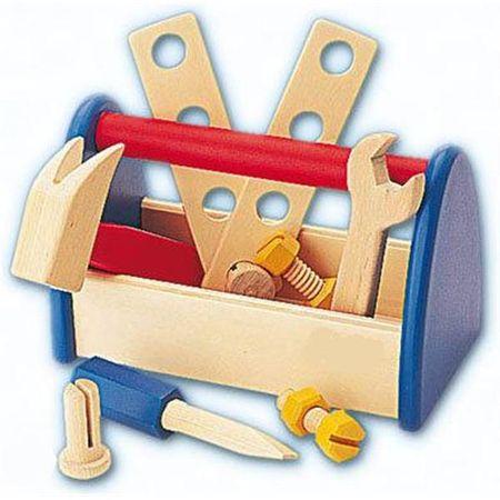 Trusa scule constructie din lemn pentru copii [0]