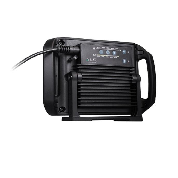 Audio Light 5000 lm, lampa audio reincarcabila, cu bluetooth si cablu, 5000 lumeni [2]