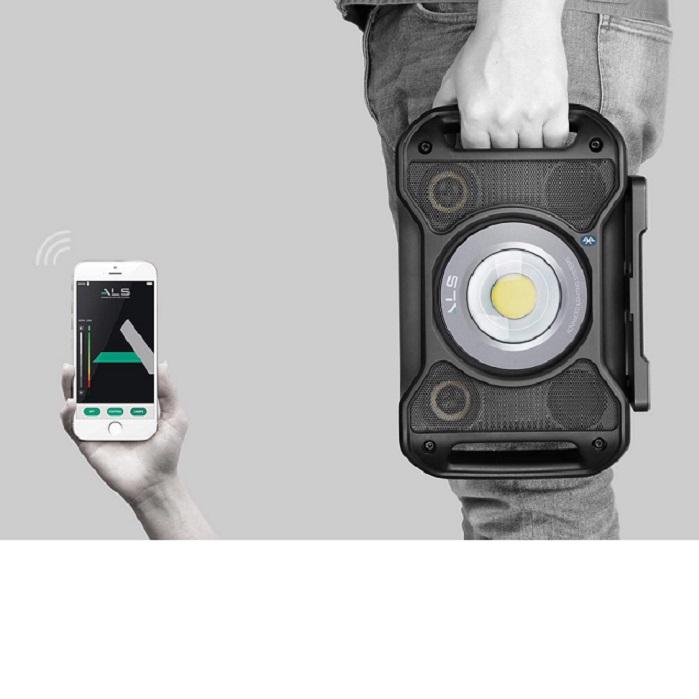 Audio Light 5000 lm, lampa audio reincarcabila, cu bluetooth si cablu, 5000 lumeni [1]