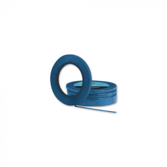 Bandă fina mascare, albastră [0]