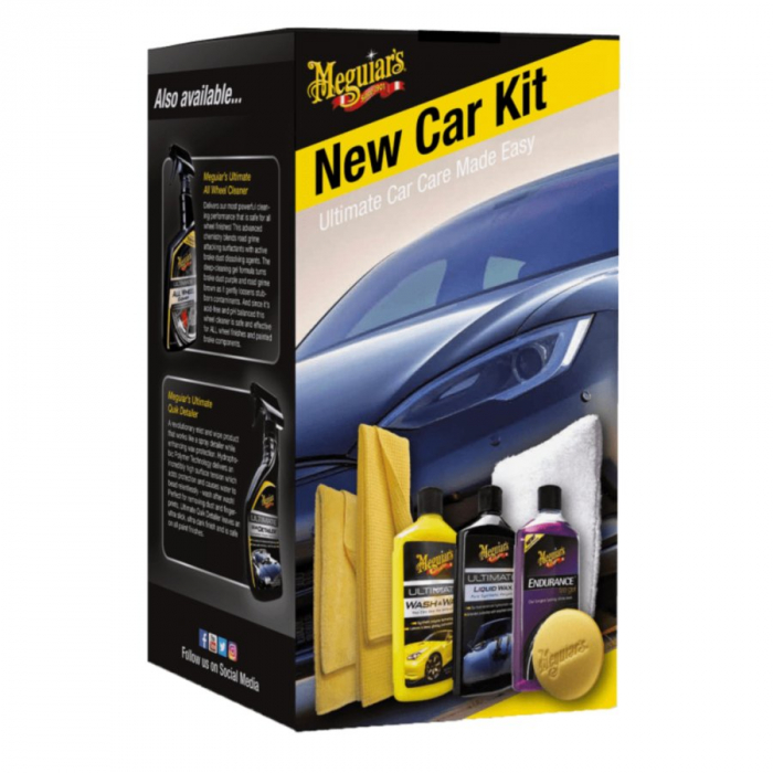 Brilliant Solutions New Car Kit, kit intretinere masina noua [0]