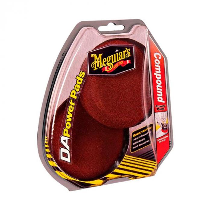 "DA Compound Power Pads 4"", burete polish abraziv, 2 buc 0"