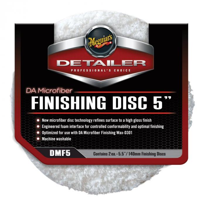 "DA Microfiber Finishing Disc 5"", disc polish finish cu microfibra 12,7 cm, pachet 2 buc [0]"