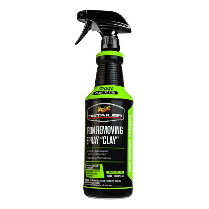 Detailer Iron Removing Spray Clay, solutie decontaminare chimica, 946 ml 0