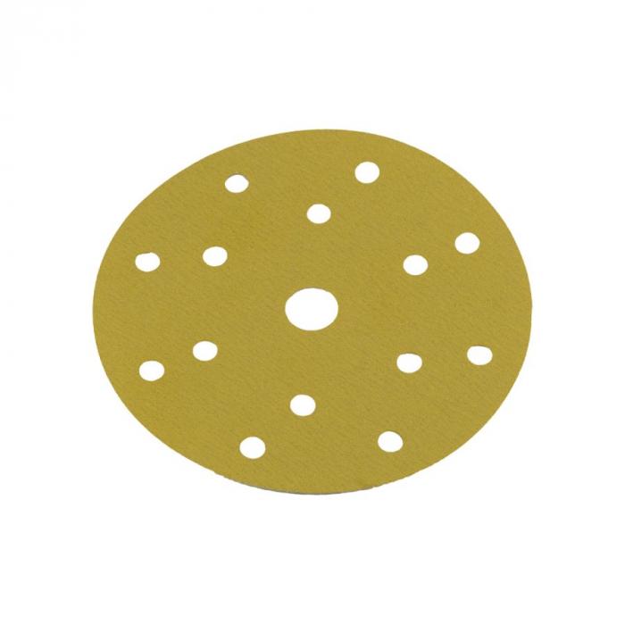 Disc abraziv Premium Gold 150 mm, velcro, 15 gauri 0