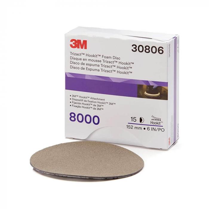 3M.30806_3M_Disc_Trizact_Foam_Disc_152mm_P8000 0