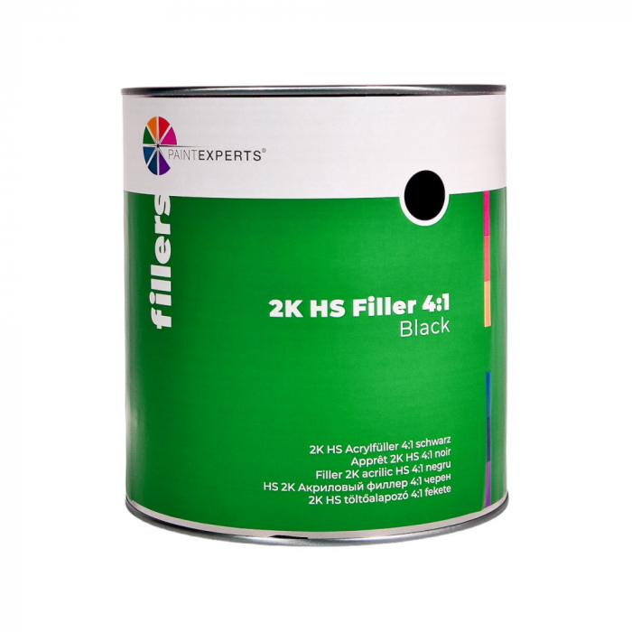 R831.003_Paint_Experts_Filler_2K_acrilic_HS_41_negru_3ltr 0