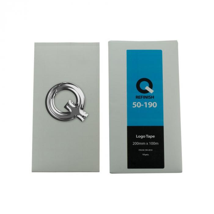 Folie dublu adeziva logo, 200x100 mm, pachet 10 buc 0