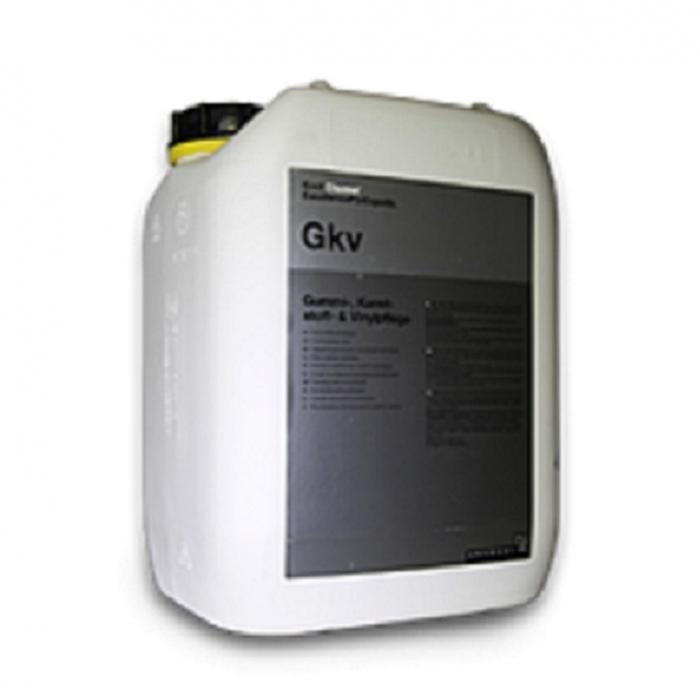 Gkv - Gummi, Kunststoff und Vinyl Pflege, dressing plastic si cauciuc exterior, semi-lucios 30 ltr 0