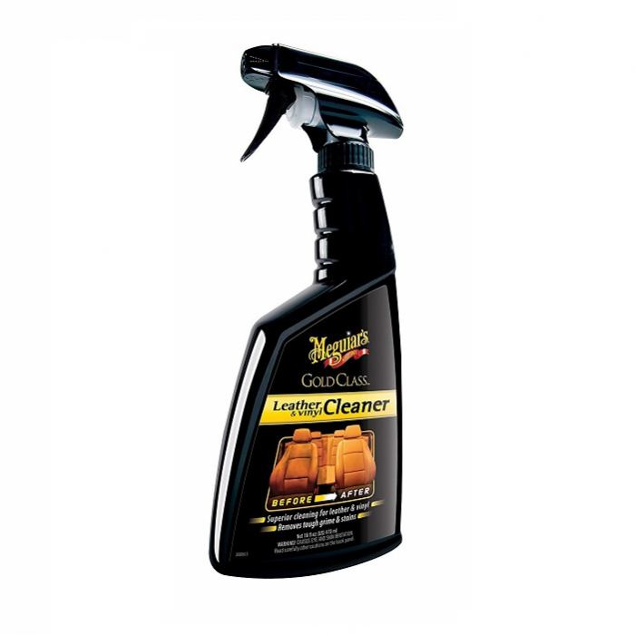 Gold Class Leather and Vinyl Cleaner, solutie curatare piele si vinilin, 473 ml 0