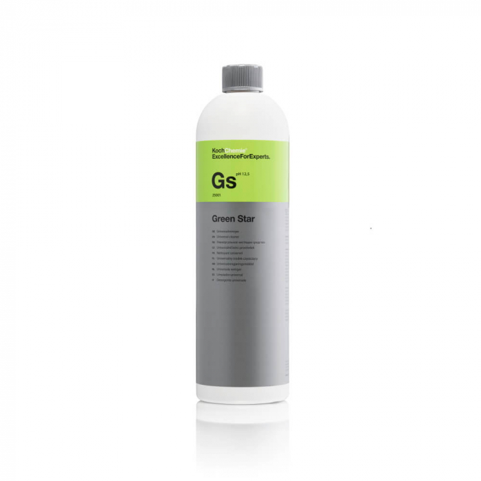 Gs - Green Star, soluție curățare universală alcalină, 1 ltr [0]