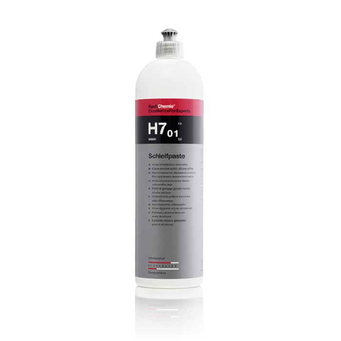 H7.01 - Schleifpaste, polish abraziv fara silicon si uleiuri, 1 ltr 0