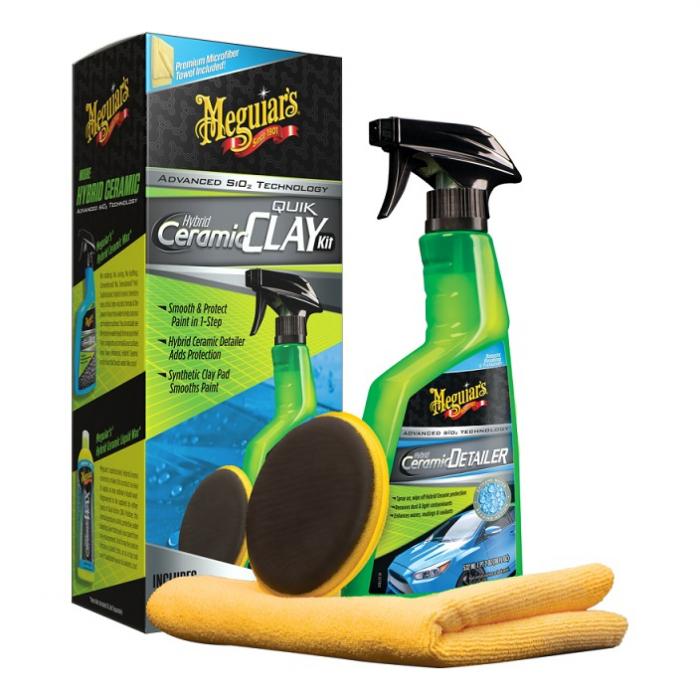 Hybrid Ceramic Quick Clay Kit, kit decontaminare vopsea cu pad argila sintetica 1