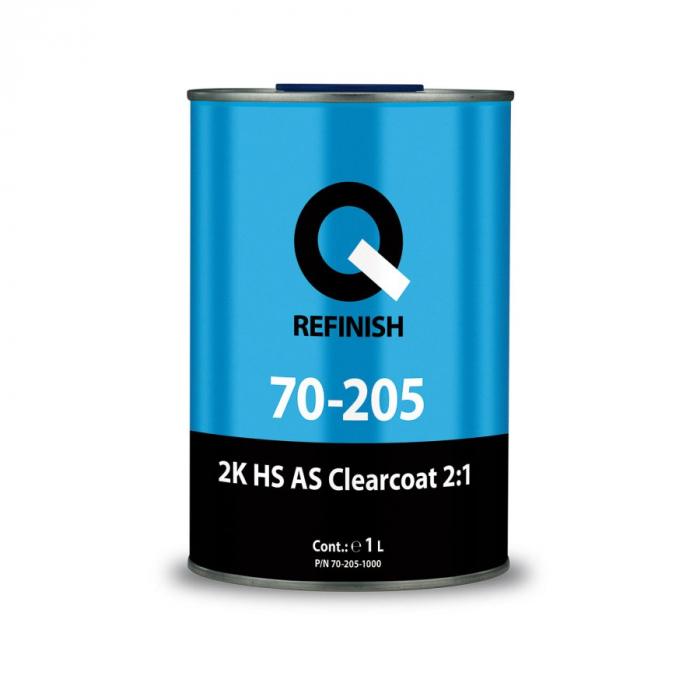 Lac acrilic 205 HS rezistent la zgarieturi 0