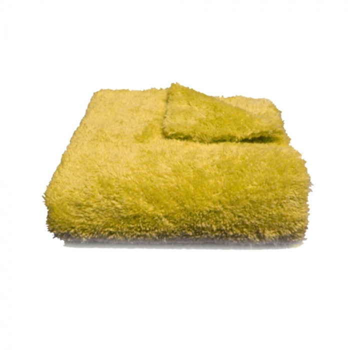 Laveta microfibra galbena pentru ceara 40x40 cm 1