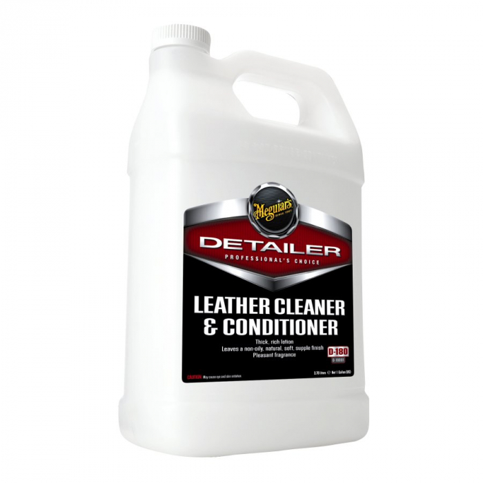 Leather Cleaner and Conditioner, solutie curatare si hidratare piele, 3,78 ltr 0