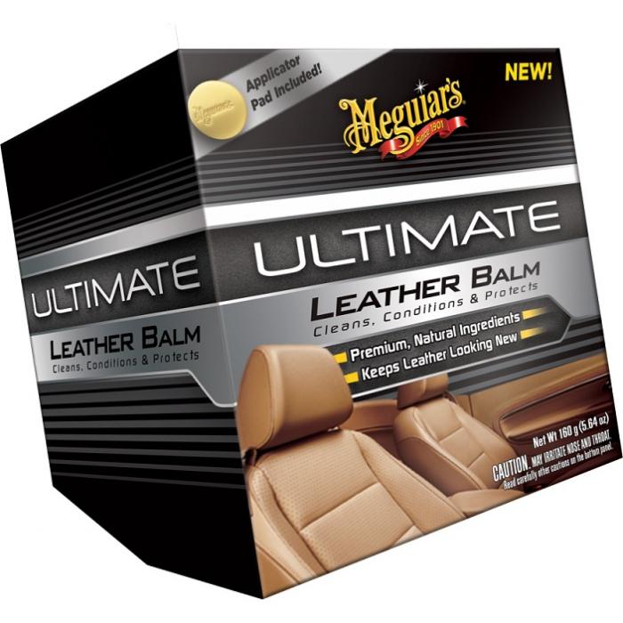 M-Ultimate Leather Balm, solutie hidratare piele, 160 gr [0]