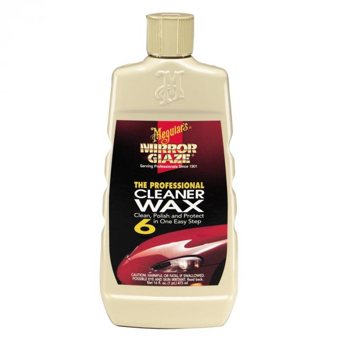 Mirror Glaze Cleaner Wax, solutie curatare si protectie vopsea, 473 ml 0