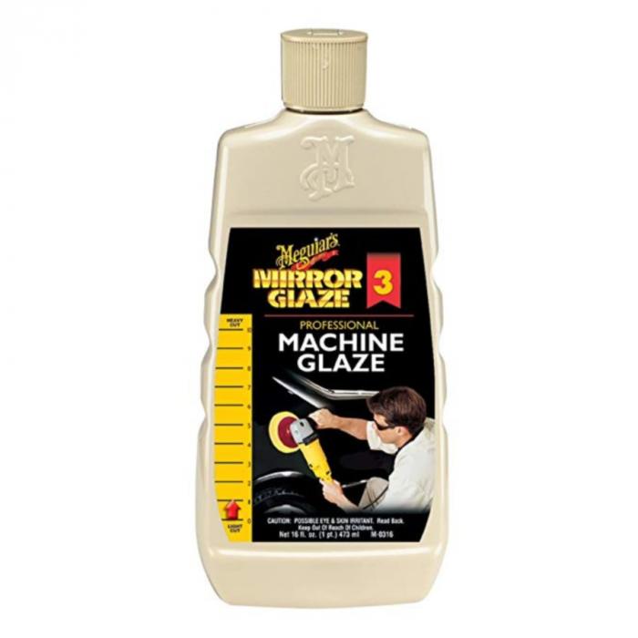 Mirror Glaze Professional Machine Glaze, solutie reimprospatare vopsea, 473 ml [0]
