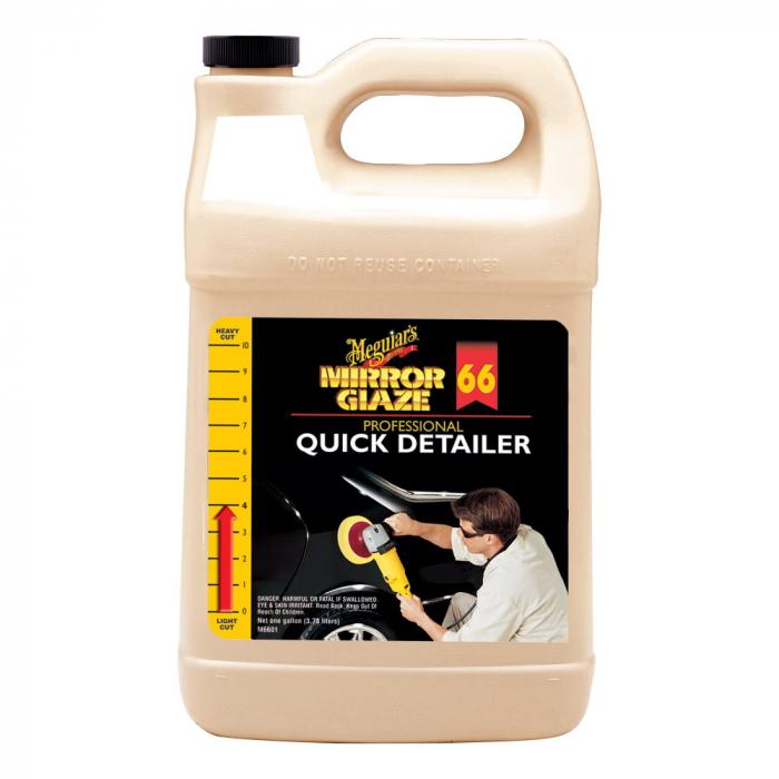 Mirror Glaze Quick Detailer, solutie curatare chimica si protectie cu ceara auto lichida, 3,78 ltr [0]