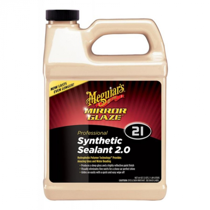 Mirror Glaze Synthetic Sealant 2.0, protectie polimerica vopsea, 1,89 ltr 0
