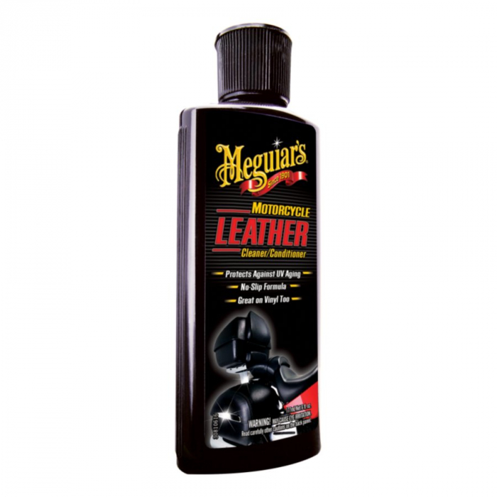 Motorcycle Leather Cleaner and Conditioner, solutie curatare si hidratare piele si vinilin, 177 ml [0]