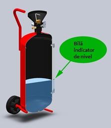 Nebulizator metalic vopsit, capacitate  50 ltr 1