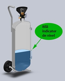 Nebulizator spumant inox AISI 316, capacitate  10 ltr 1