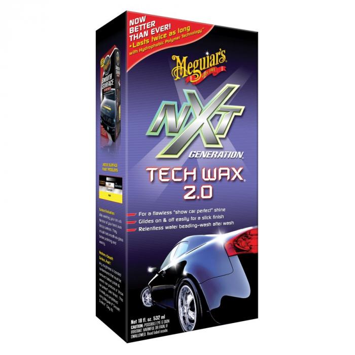 NXT Generation Tech Liquid Wax 2.0, ceara auto lichida cu polimeri, 532 ml [0]