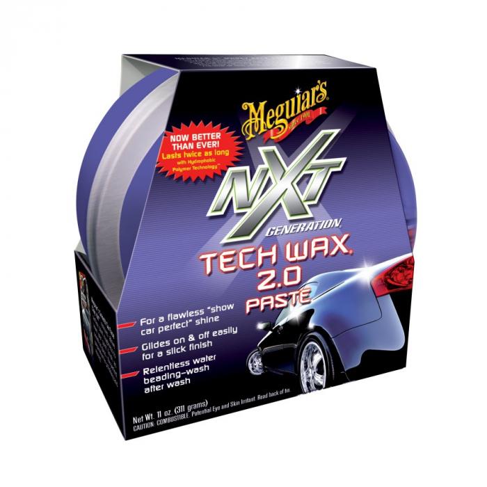 NXT Generation Tech Paste Wax, ceara auto solida cu polimeri, 311 gr [0]