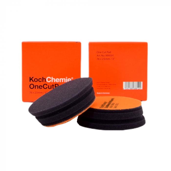 999591_Koch_Chemie_One_Cut_Pad_burete_polish_one_step_portocaliu_76x23mm 0