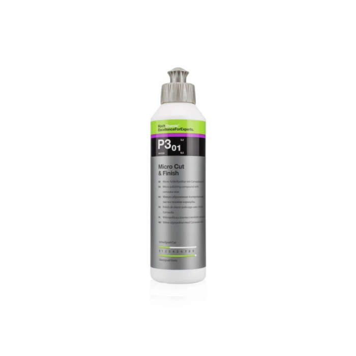 P3.01 - Micro Cut and Finish, polish finish cu protecție carnauba, 250 ml [0]