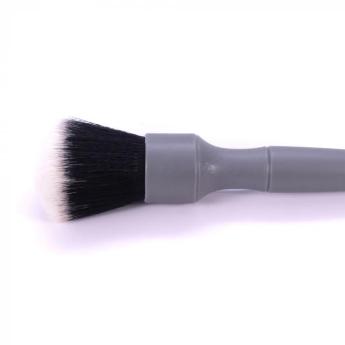 Pensula detailing moale cu par sintetic, gri 2