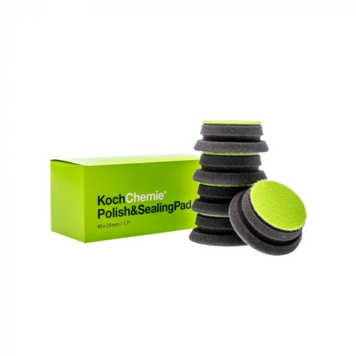 999613_Koch_Chemie_Polish_and_Sealing_Pad_burete_aplicare_protectii_verde_45x23mm_cutie_5buc [0]