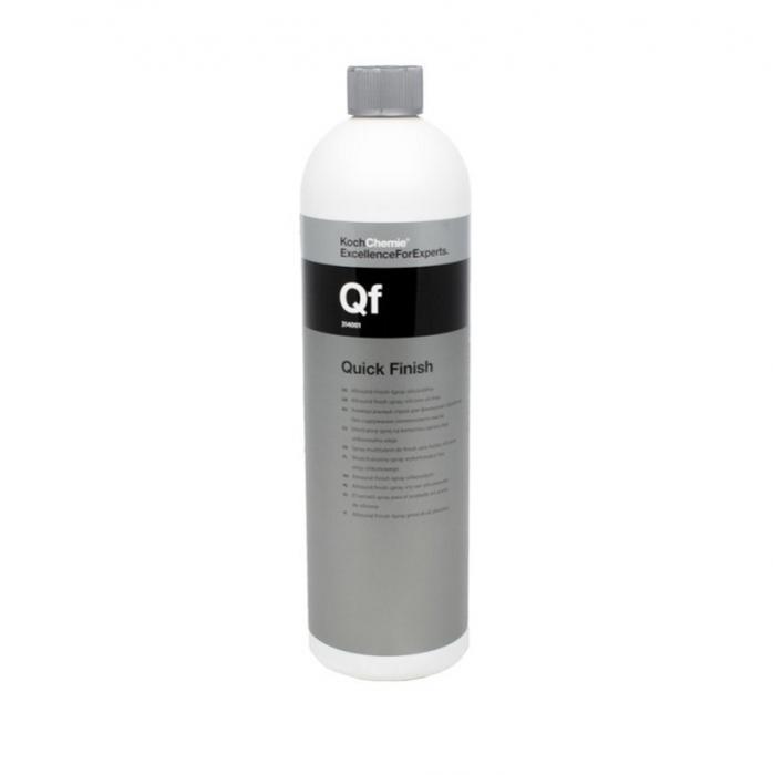 Qf - Quick Finish Allround Finish, solutie detailing rapid universala cu efect hidrofob, fara silicon,  1 ltr 0
