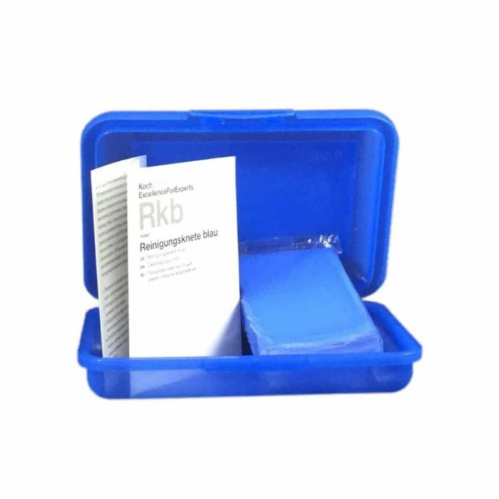 Rkb - Cleaning Clay Mild, argila decontaminare albastra, medie, 260 gr [0]
