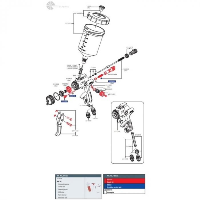 Set reparatii JET 5000 B 0