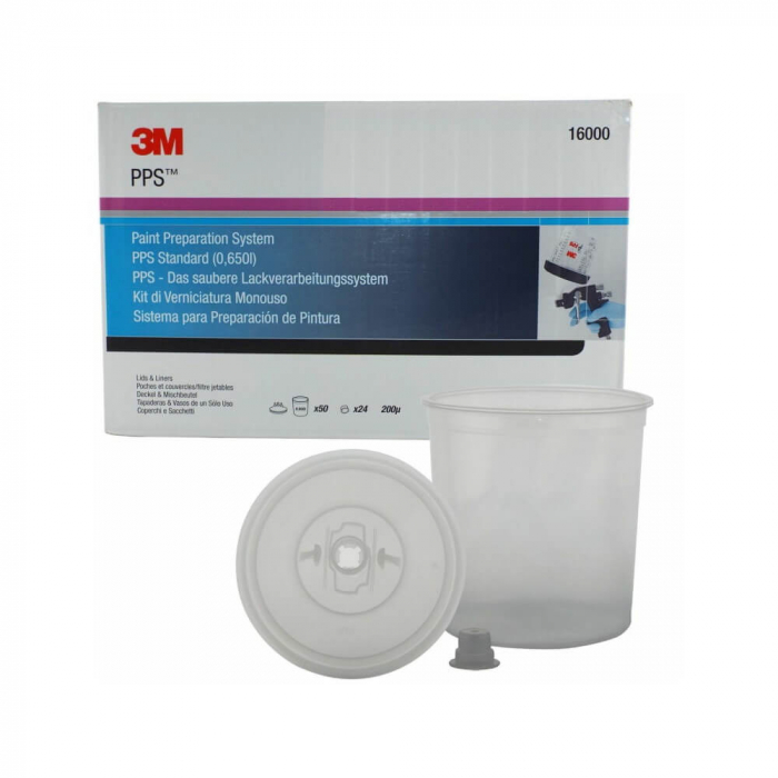 3M.16000_3M_Set-standard_PPS_650ml_200microni_50_pungi_24_capace 0