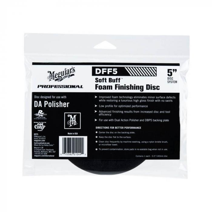 DFF5_Meguiars_Soft_Buff_DA_Foam_Finishing_Disc_5_inchi_burete_polish_finish_12.7cm [0]