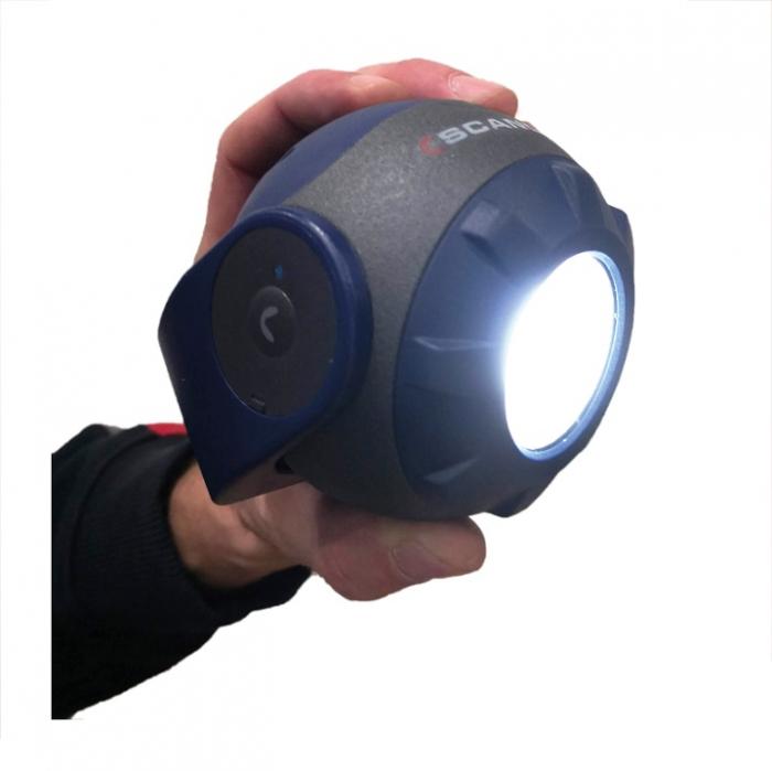 SOUNDLED S, lampa led audio reincarcabila, 600 lumeni 3